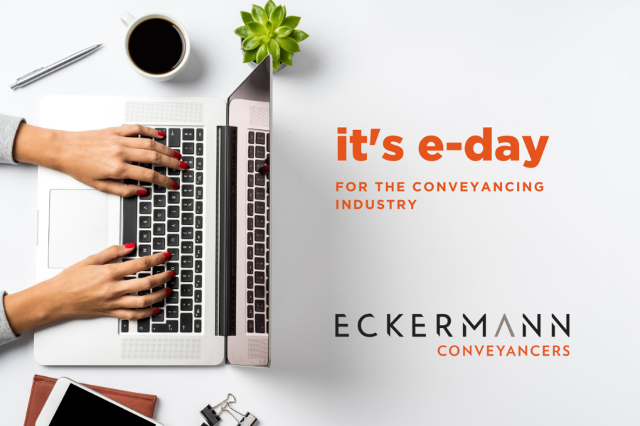Today's officially e-day for the conveyancing industry! But it's pretty much just business as usual. image